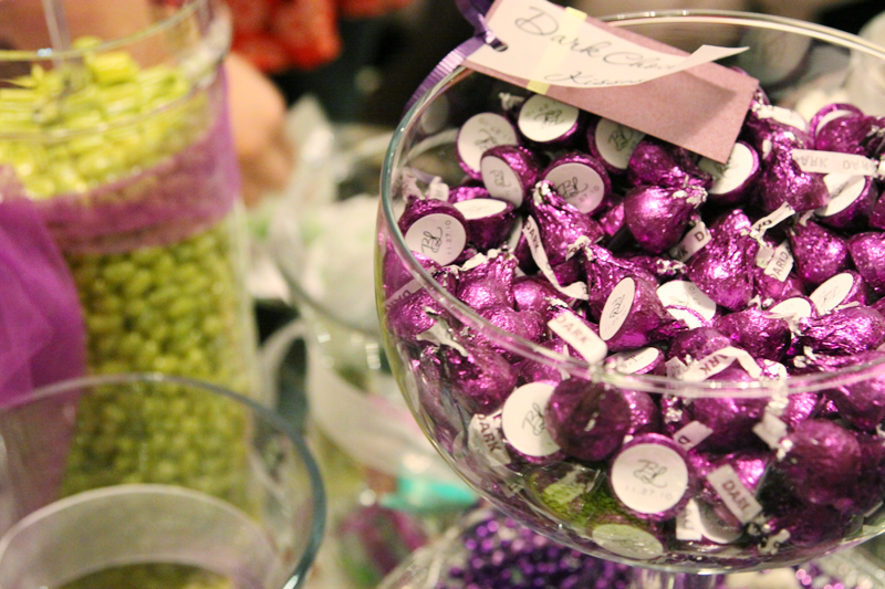 purple, green, Candy, Buffet, Jar, Kisses, In the clouds events