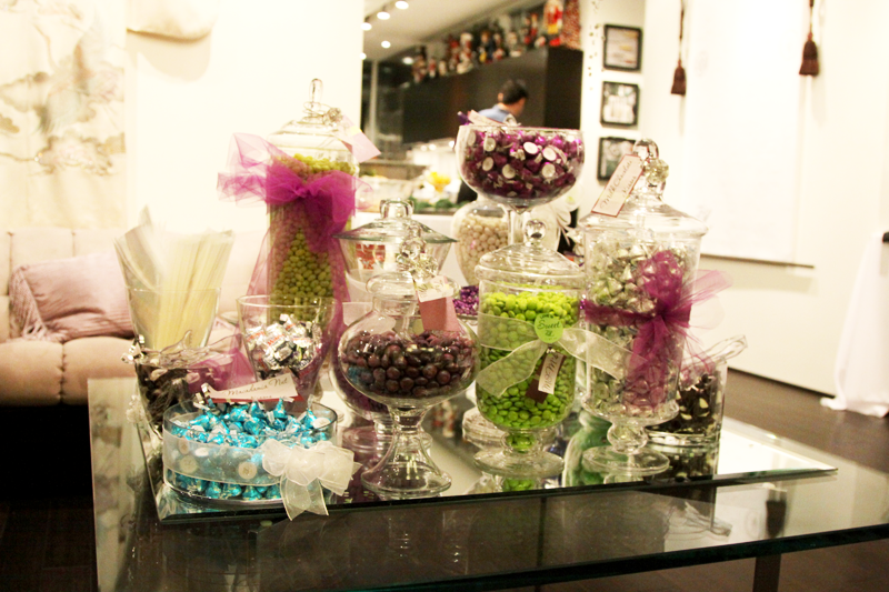 white, purple, blue, green, silver, Candy, Buffet, In the clouds events