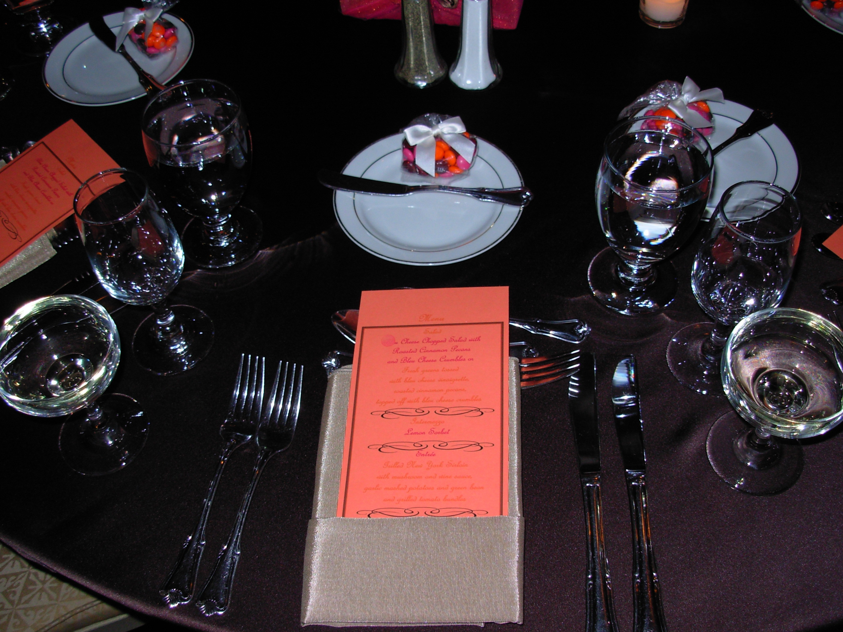 Reception, Flowers & Decor, Stationery, orange, pink, Menus, Do, It, Yourself, Creative wedding solutions