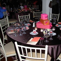 Reception, Flowers & Decor, orange, pink, brown, Centerpieces, Gift, Theme, Box, Creative wedding solutions