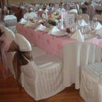 Reception, Flowers & Decor, pink, brown, La flor events designs