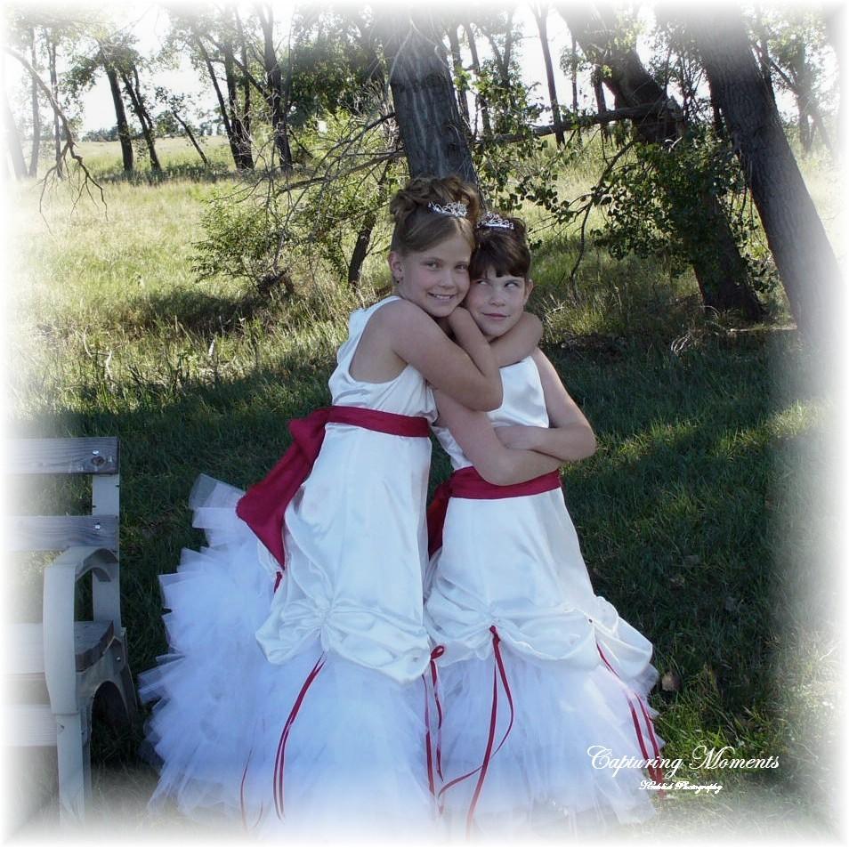 Beauty, Flowers & Decor, Wedding Dresses, Fashion, red, silver, gold, dress, Flowers, Flower, Girl, Hair, Maximum capacity events, Flower Wedding Dresses