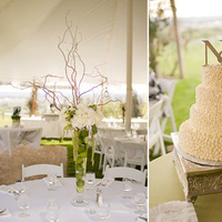 Flowers & Decor, Cakes, white, green, cake, Centerpieces, Flowers, Centerpiece, Natalie prevatte events