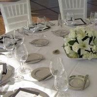 Reception, Flowers & Decor, white, blue, silver, Flowers, Pueblo bonito oceanfront resorts spas