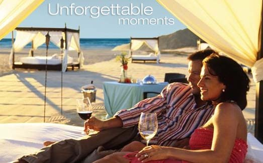 Honeymoon, Destinations, white, gold, Honeymoons, Beach, Couples, Beds, Pueblo bonito oceanfront resorts spas