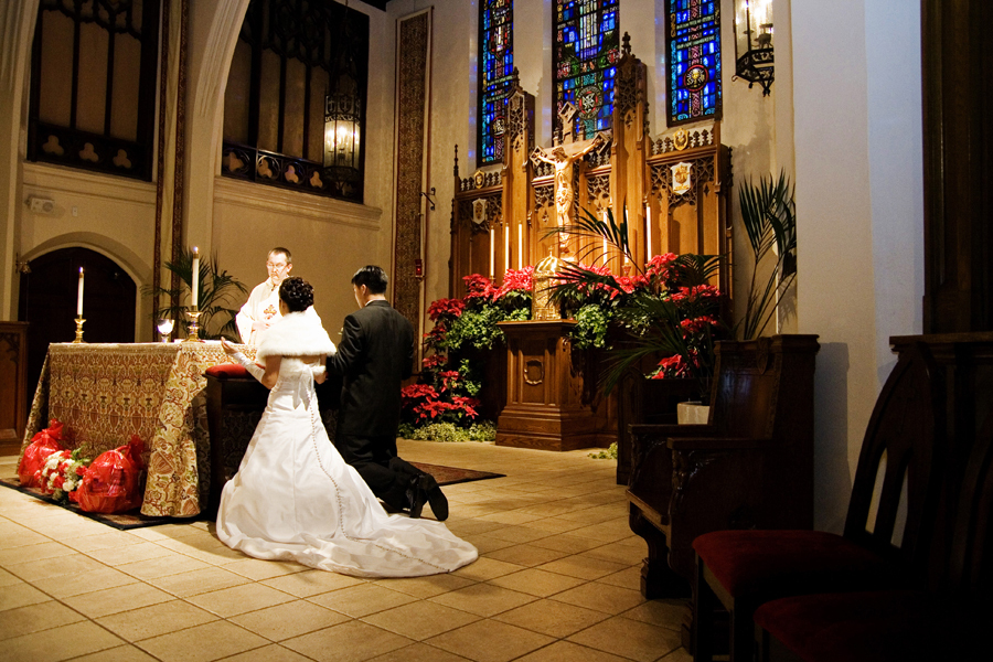 Beauty, Ceremony, Inspiration, Flowers & Decor, Wedding Dresses, Shoes, Photography, Fashion, white, red, black, dress, Ceremony Flowers, Bride Bouquets, Bride, Flowers, Groom, Hair, Church, Board, Catholic, Los, Angeles, E, Leasa e photography, Leasa, Flower Wedding Dresses