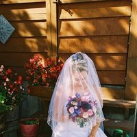 Flowers & Decor, Veils, Fashion, pink, purple, Bride Bouquets, Flowers, Bouquet, Veil, Royal city weddings events, Flower Wedding Dresses