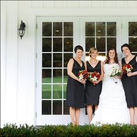 Flowers & Decor, Bridesmaids, Bridesmaids Dresses, Wedding Dresses, Fashion, white, red, black, dress, Bride Bouquets, Bridesmaid Bouquets, Bride, Flowers, Tami mcinnis photography, Copetown woods, Flower Wedding Dresses