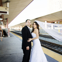 Beauty, Inspiration, Wedding Dresses, Shoes, Veils, Photography, Fashion, yellow, black, dress, Bride, Groom, Veil, Hair, Board, Station, Los, Angeles, E, Union, Leasa e photography, Leasa