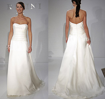Ceremony, Flowers & Decor, Wedding Dresses, Fashion, white, dress, Bride, Wedding, Rivini, Inexpensive, Cheap, Project ruffle swap