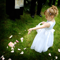 Flower Girl Dresses, Wedding Dresses, Fashion, white, pink, dress, Flower girl, Basket, Petals, Tami mcinnis photography