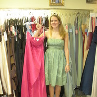 Bridesmaids, Bridesmaids Dresses, Fashion, pink, green, Katy