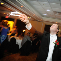 Reception, Flowers & Decor, red, Boutonnieres, Groom, Garter toss, Hamilton, Boutineer, Tami mcinnis photography, The olympia