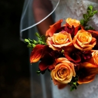 Ceremony, Flowers & Decor, Destinations, orange, Ceremony Flowers, Bride Bouquets, Flowers, Roses, Bouquet, Wedding, Bridal, Brides, Destination, Art soul weddings and events