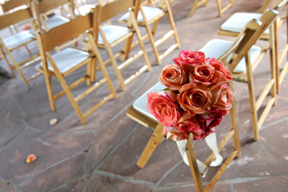 Ceremony, Flowers & Decor, orange, Roses, Fun, And, Rose, Events, Weddings, Art, Big, Garlands, Soul, Art soul weddings and events