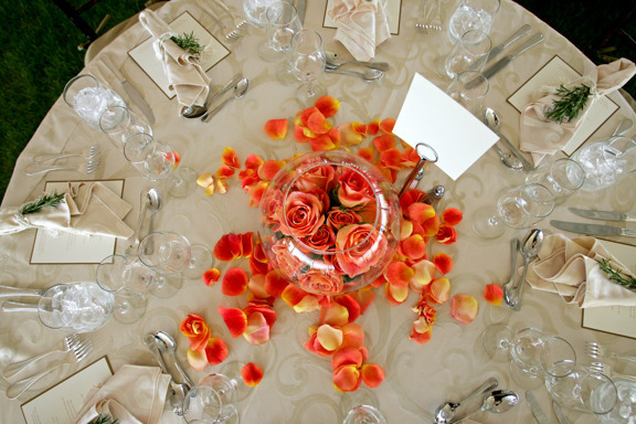 Reception, Flowers & Decor, Decor, orange, Tables & Seating, Roses, Fun, Table, And, Events, Weddings, Tables, Art, Big, Soul, Art soul weddings and events