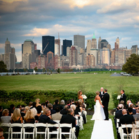 Ceremony, Inspiration, Flowers & Decor, Wedding Dresses, Fashion, white, dress, Men's Formal Wear, Ceremony Flowers, Bride Bouquets, Bride, Flowers, City, Gown, Board, Tux, Park, York, New, Nj, Skyline, Goom, State, Jersey, Liberty, Our-wedding-photographer, Flower Wedding Dresses