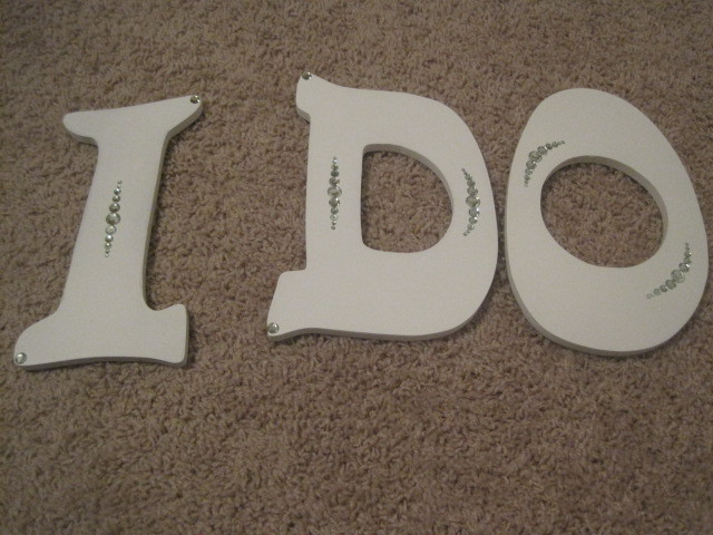Do, I, Letters