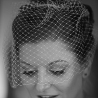 Beauty, Veils, Vintage Wedding Dresses, Fashion, white, black, silver, gold, Makeup, Vintage, Bride, Veil, Hair, Birdcage, Js makeup artistry