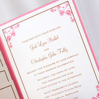 Stationery, pink, invitation, Invitations, Allison barnhill designs