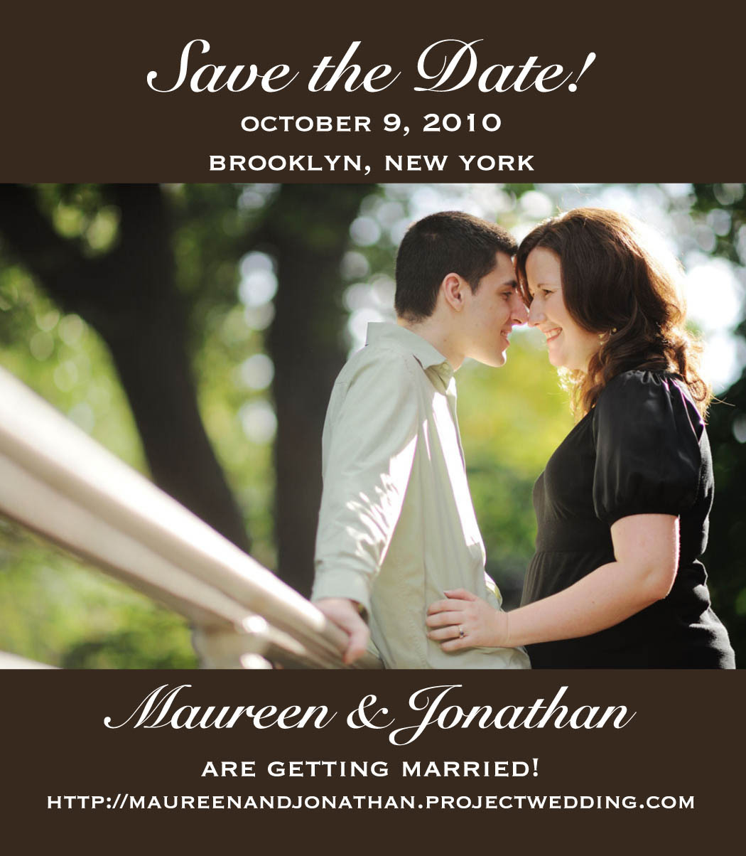 Save the date, Magnet