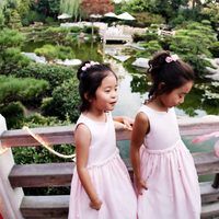Beauty, Ceremony, Flowers & Decor, Wedding Dresses, Fashion, pink, red, dress, Ceremony Flowers, Flowers, Flower, Girl, Hair, Flower Wedding Dresses
