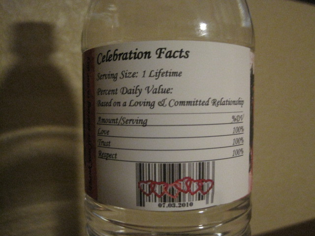 Labels, Waterbottle