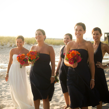Beauty, Flowers & Decor, Bridesmaids, Bridesmaids Dresses, Wedding Dresses, Beach Wedding Dresses, Fashion, white, black, dress, Beach, Bridesmaid Bouquets, Summer, Flowers, Beach Wedding Flowers & Decor, Hair, Tessie reveliotis photography, Flower Wedding Dresses, Summer Wedding Dresses