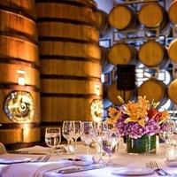 Reception, Flowers & Decor, orange, purple, Centerpieces, Centerpiece, Andrews atelier