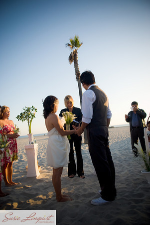 Ceremony, Flowers & Decor, Wedding Dresses, Beach Wedding Dresses, Fashion, white, yellow, pink, green, dress, Beach, Ceremony Flowers, Flowers, Beach Wedding Flowers & Decor, Modern la weddings, Flower Wedding Dresses