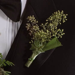 Flowers & Decor, green, Boutonnieres, Flowers, Boutonniere, Andrews atelier