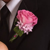 Flowers & Decor, pink, Boutonnieres, Flowers, Boutonniere, Andrews atelier