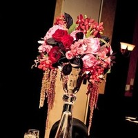 Reception, Flowers & Decor, pink, red, purple, Centerpieces, Centerpiece, Andrews atelier