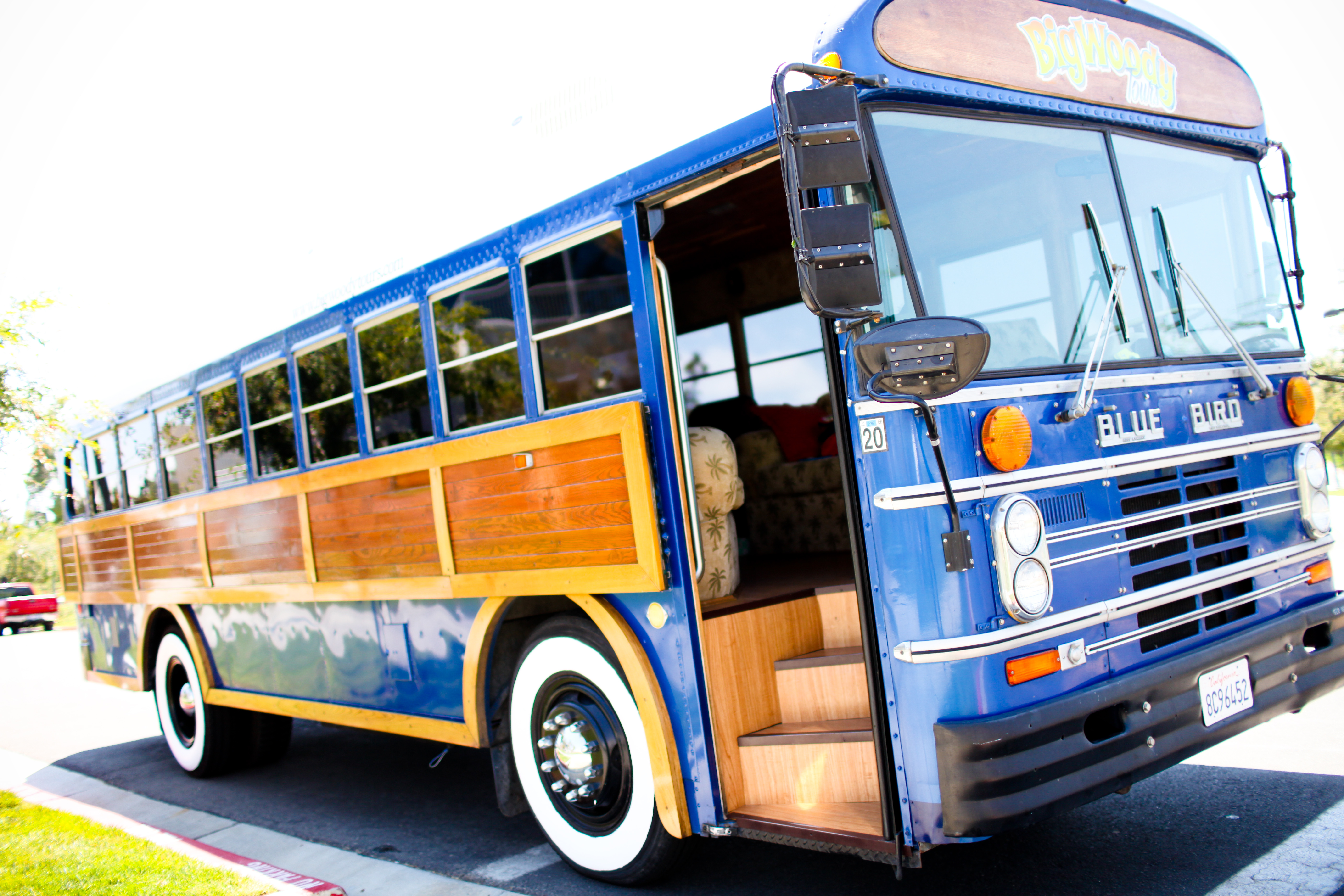 Transportation, Limo, Bus, Big woody tours