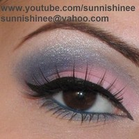 Beauty, pink, blue, Makeup
