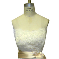 Wedding Dresses, Lace Wedding Dresses, Fashion, white, gold, dress, Bride, Gown, Wedding, Lace, Strapless, Strapless Wedding Dresses, Sash, Alencon, Beth heintzinger custom clothing
