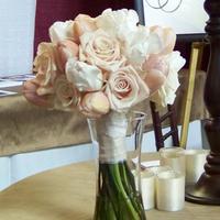 Flowers & Decor, pink, gold, Bride Bouquets, Flowers, Bouquet, Cream