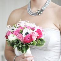 Flowers & Decor, white, pink, black, Bride Bouquets, Bride, Flowers, Bouquet, Distinct occasions, Fflowers