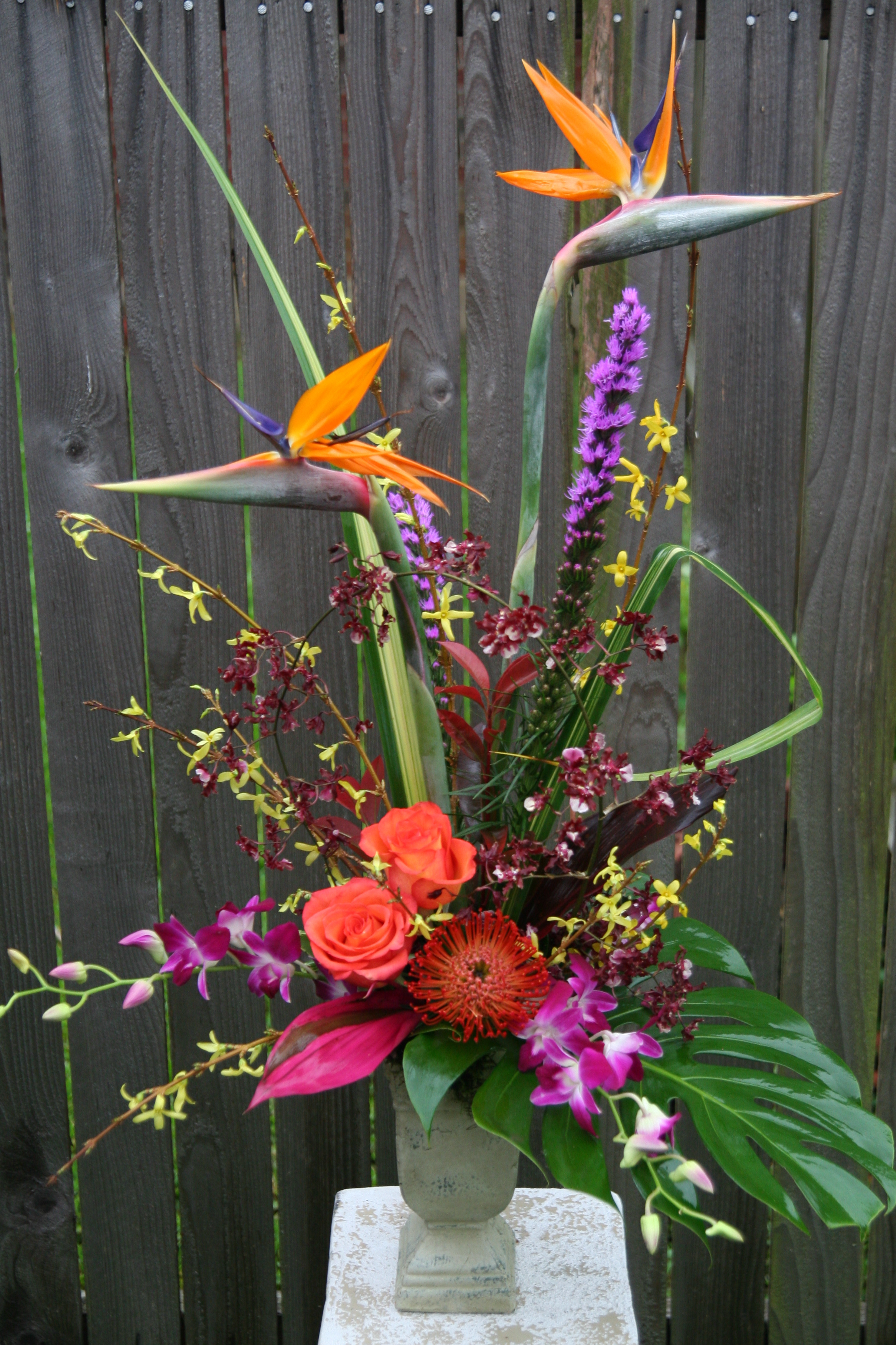 Flowers & Decor, yellow, orange, pink, red, purple, green, Flowers, Dazzling bouquets