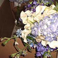 Ceremony, Flowers & Decor, white, blue, Ceremony Flowers, Bride Bouquets, Flowers, Bouquet, Macklin floral designs