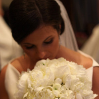 Beauty, Flowers & Decor, white, Updo, Bride Bouquets, Bride, Flowers, Wedding, Hair, Jane berger photography