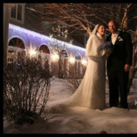 Flowers & Decor, Wedding Dresses, Fashion, white, black, dress, Bride Bouquets, Winter, Bride, Flowers, Groom, Wedding, New, Day, Lights, Holiday, Years, Eve, Jane berger photography, Dunegrass, winter wedding dresses, Flower Wedding Dresses