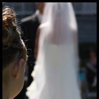 Ceremony, Flowers & Decor, Bridesmaids, Bridesmaids Dresses, Wedding Dresses, Fashion, white, pink, dress, Ceremony Flowers, Bride Bouquets, Bridesmaid Bouquets, Bride, Flowers, Flower, Girl, Groom, Wedding, Seaside, Oceanside, Jane berger photography, Flower Wedding Dresses