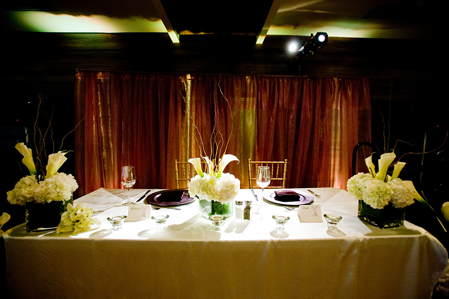 Reception, Flowers & Decor, white, yellow, orange, red, purple, green, brown, gold, Flowers, Table, Sweetheart, Modern la weddings