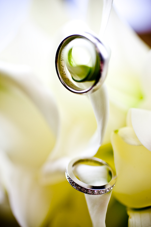 Ceremony, Flowers & Decor, Jewelry, white, green, gold, Modern la weddings