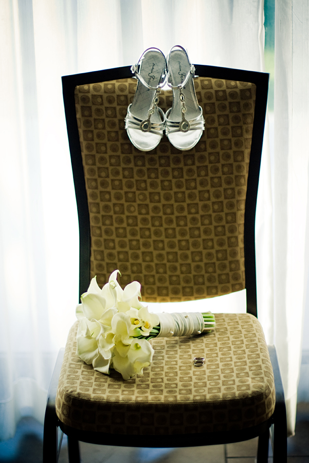 Ceremony, Flowers & Decor, Jewelry, Shoes, Fashion, white, green, brown, silver, Ceremony Flowers, Flowers, Modern la weddings, Flower Wedding Dresses