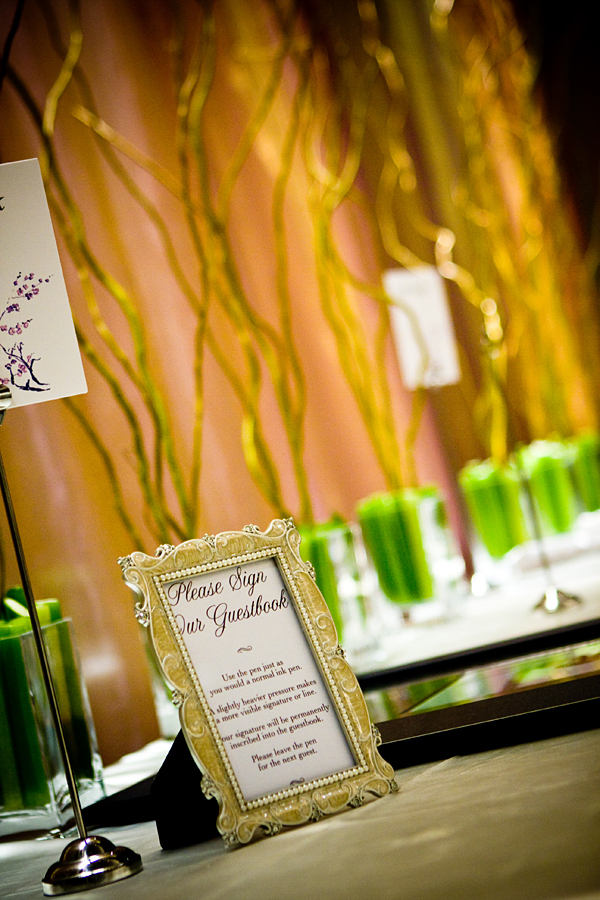 Reception, Flowers & Decor, green, Flowers, Modern la weddings