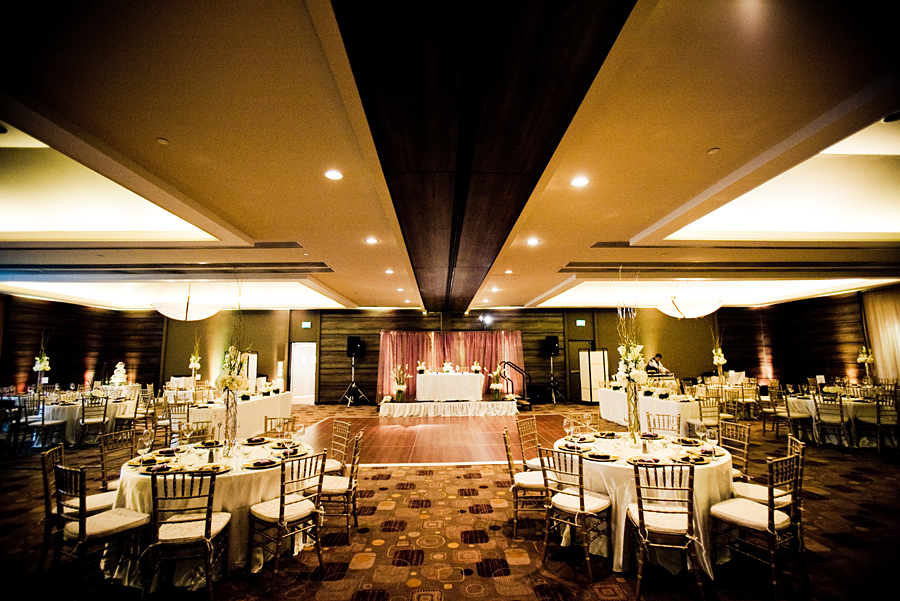 Reception, Flowers & Decor, white, purple, green, brown, Flowers, Modern la weddings
