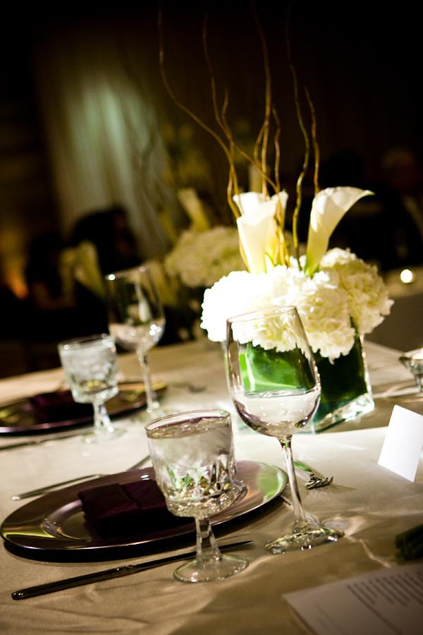 Reception, Flowers & Decor, white, green, Flowers, Modern la weddings