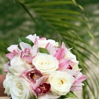 Flowers & Decor, white, pink, Bride Bouquets, Bride, Flowers, Bouquet, Sint maarten marry-me